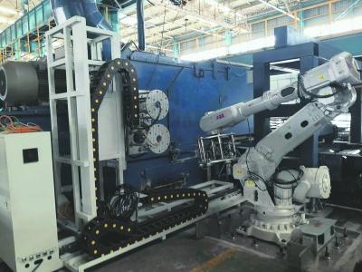 世界首台全自动砂轮片更换系统上线
